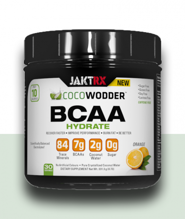 CocoWodder Hydrate -  BCAAs with Orange flavour