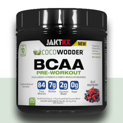 COCOwodder - PreWorkout BCAA with Blue Raspberry flavor