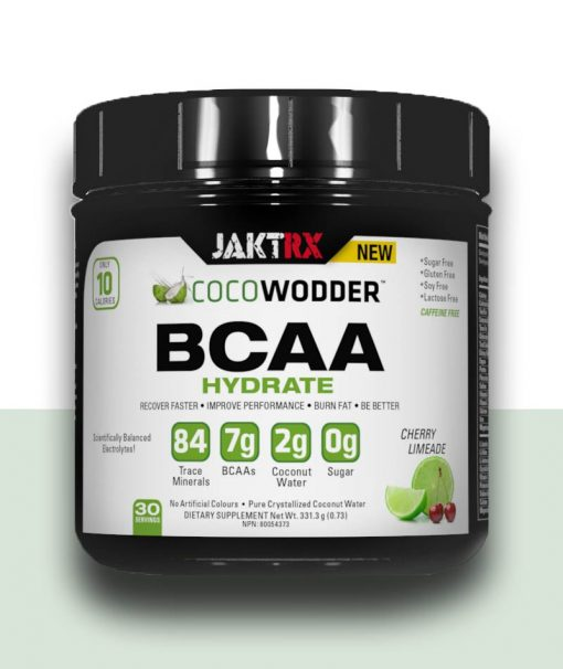 COCOwodder - Hydrate BCAA with Cherry Lime flavor