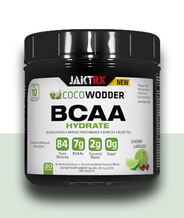 CocoWodder Hydrate -  BCAAs with Cherry Limeade flavour
