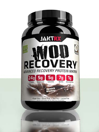 WOD Recovery - Chocolate Milkshake - Advanced recovery protein matrix for CrossFit and athletes of all types