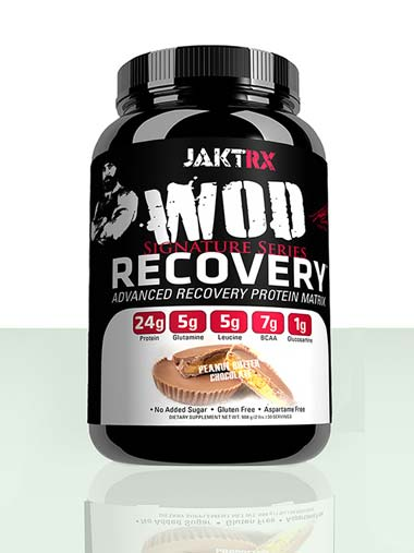 WOD Recovery - Peanut Butter Chocolate - Advanced recovery protein matrix for CrossFit and athletes of all types