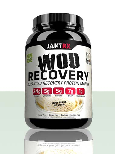 WOD Recovery - Vanilla Ice Cream - Advanced recovery protein matrix for CrossFit and athletes of all types